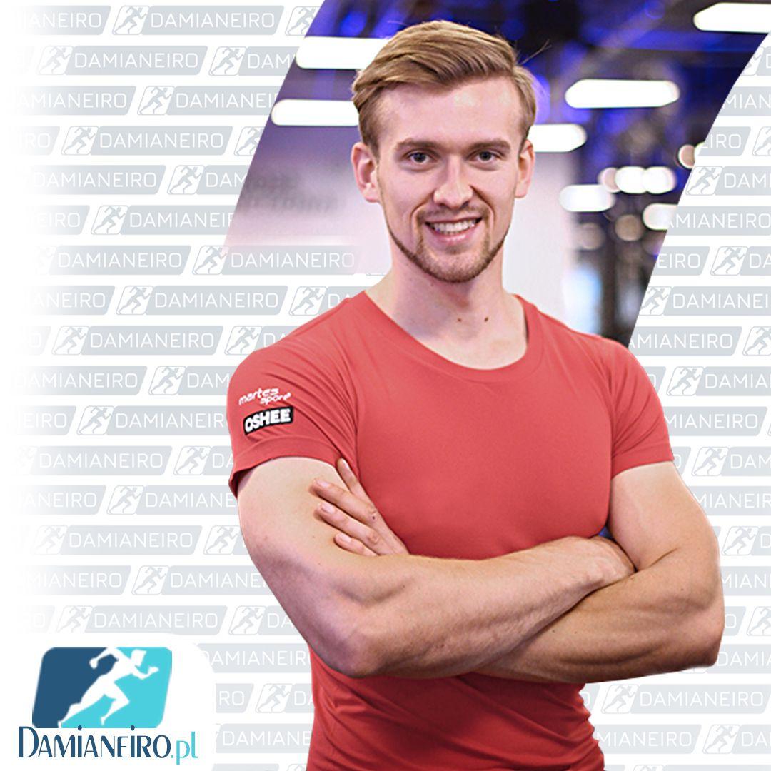 Trener Personalny Białystok Damian Ostrowski